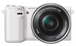 Sony NEX-5R 16-50mm kit White