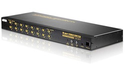 Aten 16-Port VGA Audio/Video Switch with IR Remote Control