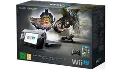 Nintendo Wii U Premium Black + Monster Hunter 3 Ultimate
