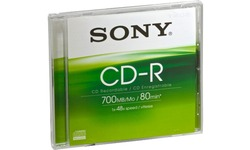 Sony CDQ80SJ CD-R 48x Jewel case