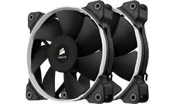 Corsair Air Series SP120 PWM Quiet Edition High Static Pressure Fan Twin Pack
