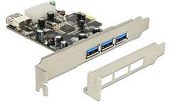 Delock PCI Express 4-port USB 3.0