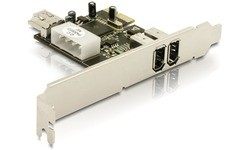 Delock 2-port FW400 PCIe Card
