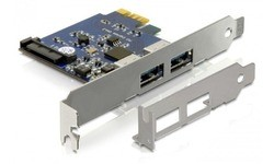 Delock 2-port USB 3.0 PCIe Card