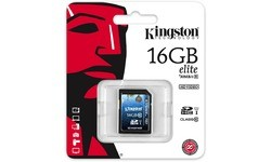 Kingston SDHC Class 10 USH-I Elite 16GB