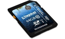 Kingston SDXC Class 10 USH-I Elite 64GB