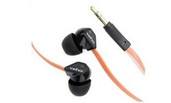Veho 360 Noise Isolating Earphones Black/Orange