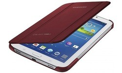 """Samsung Book Cover Red (Galaxy Tab3 7"""")"""