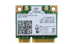 Intel Dual Band Wireless-AC 7260 (Mini PCIe x1)