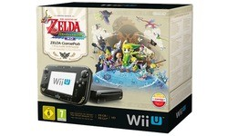 Nintendo Wii U Premium Black + Zelda