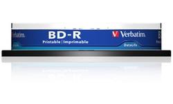 Verbatim BD-R Printable 6x 10pk Spindle