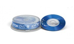 TDK DVD-R 2x 10pk Spindle
