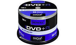 Intenso DVD+R 16x 50pk Spindle