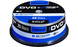 Intenso DVD+R DL 8x 25pk Spindle