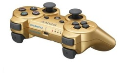 Sony PS3 Wireless DualShock Controller Gold