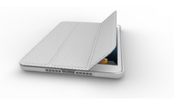 Cooler Master Wake Up Folio Carbon Silver (iPad Mini)