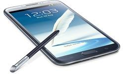 Samsung Galaxy Note II Blue