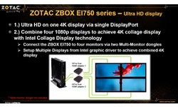 Zotac Zbox EI750-P-BE