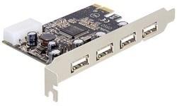 Delock 4-port USB 2.0 PCIe Card