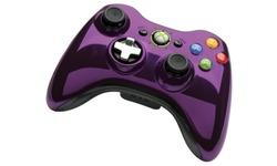 Microsoft Xbox 360 Wireless Controller Chrome Purple