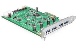 Delock 4-port USB 3.0 PCIe Card