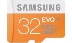 Samsung Evo MicroSDHC UHS-I 32GB + Adapter