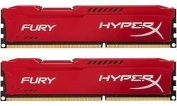 Kingston HyperX Fury Red 16GB DDR3-1600 CL10 kit