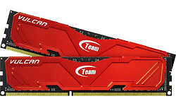 Team Vulcan Series Red 8GB DDR3-2400 CL11 kit