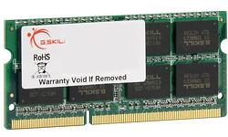 G.Skill SQ Series 8GB DDR3-1333 CL9 Sodimm