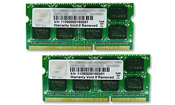 G.Skill SQ Series 8GB DDR3-1600 CL10 Sodimm