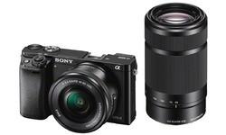 Sony Alpha A6000 16-50 + 55-210 kit Black