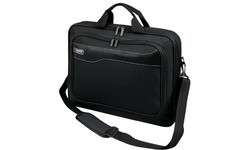 Port Designs Clamshell CaseLarge Front Black 17.3""
