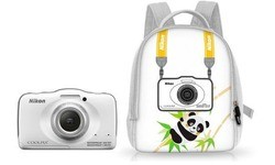 Nikon Coolpix S32 Backpack White