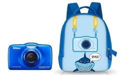 Nikon Coolpix S32 Backpack Blue
