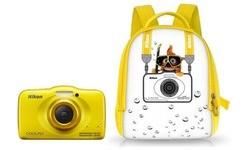 Nikon Coolpix S32 Backpack Yellow