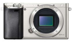 Sony Alpha A6000 Body Silver