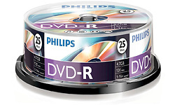 Philips DVD-R 16x 25pk Spindle