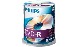 Philips DVD-R 16x 100pk Spindle