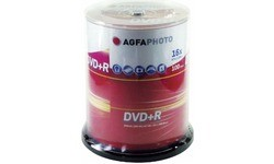 AgfaPhoto DVD+R 16x 100pk Spindle
