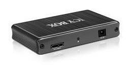 RaidSonic 4-port USB 3.0 Hub Black
