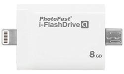 PhotoFast i-FlashDrive Gen2 Lightning 8GB White