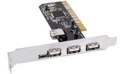 InLine 4-Port USB PCI Card