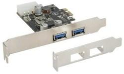 InLine 2-Port USB 3.0 PCI-e Card