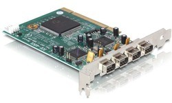 Delock 4-Port FireWire400 PCI Card