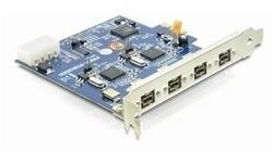 Delock 4-Port FireWire B PCI-e