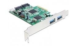 Delock 2-Port SATA + 2-Port USB 3.0