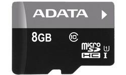 Adata MicroSDHC Premier Class 10 USH-I 8GB