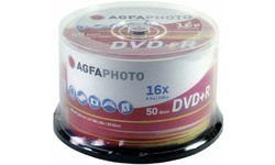 AgfaPhoto DVD+R 16x 50pk Spindle