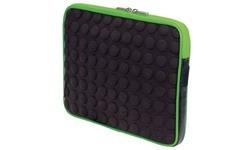 "Manhattan Tablet Bubble Case Black/Green 10.1"""