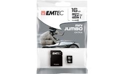 Emtec MicroSD Class 10 16GB + Adapter
